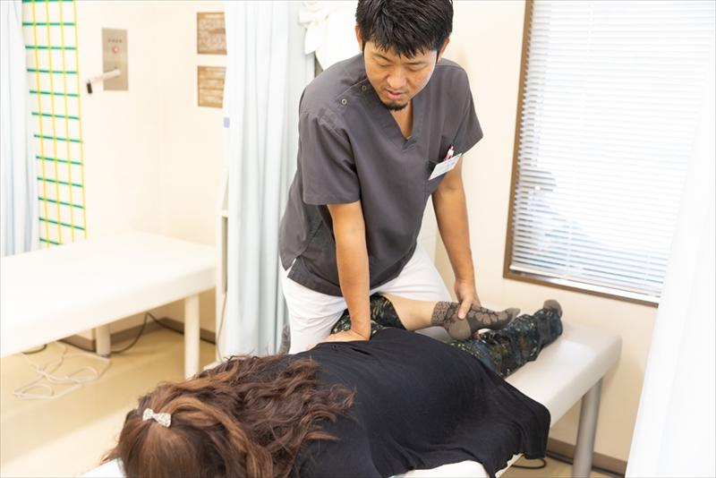 上戸祭整骨院の手技療法