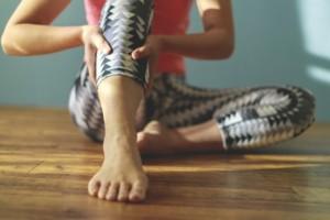 足がつるイメージ